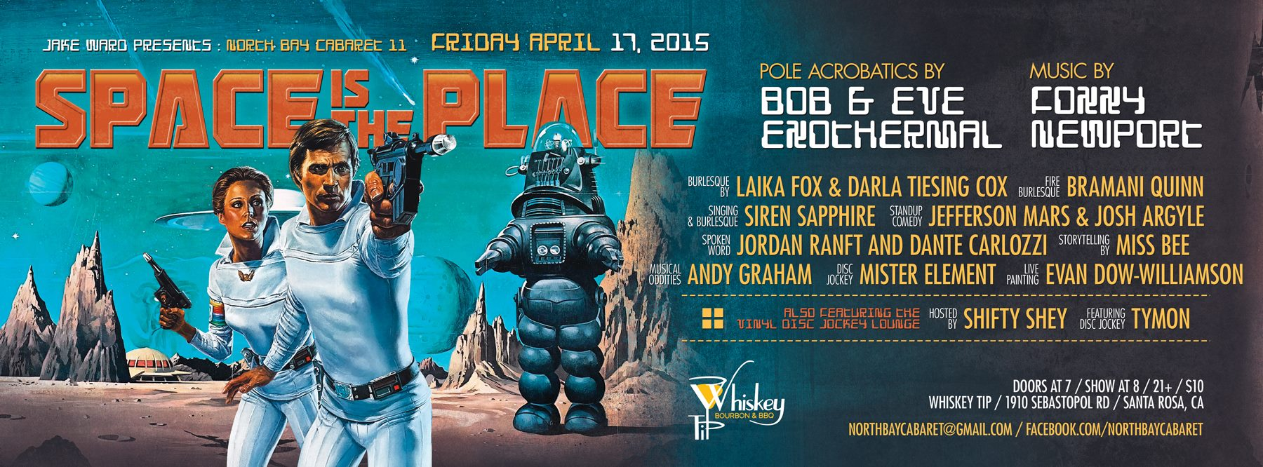 Friday April 17 – North Bay Cabaret 11: Space is the Place