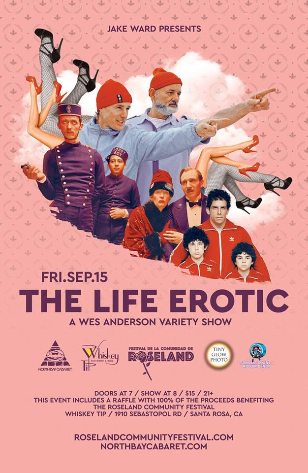 The Life Erotic: A Wes Anderson Variety Show!!